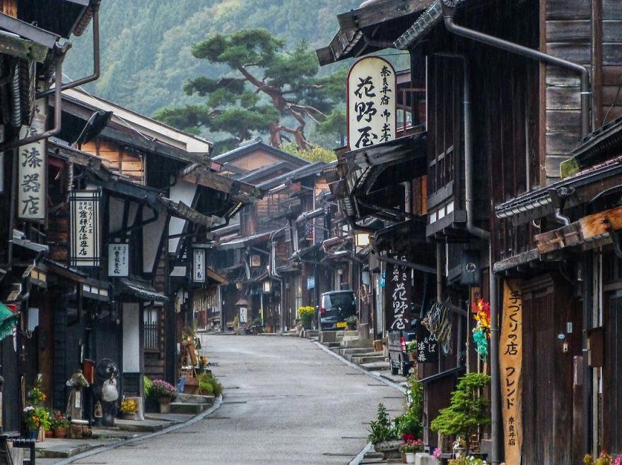 Япония: самые красивые места Japan Тропа Накасэндо