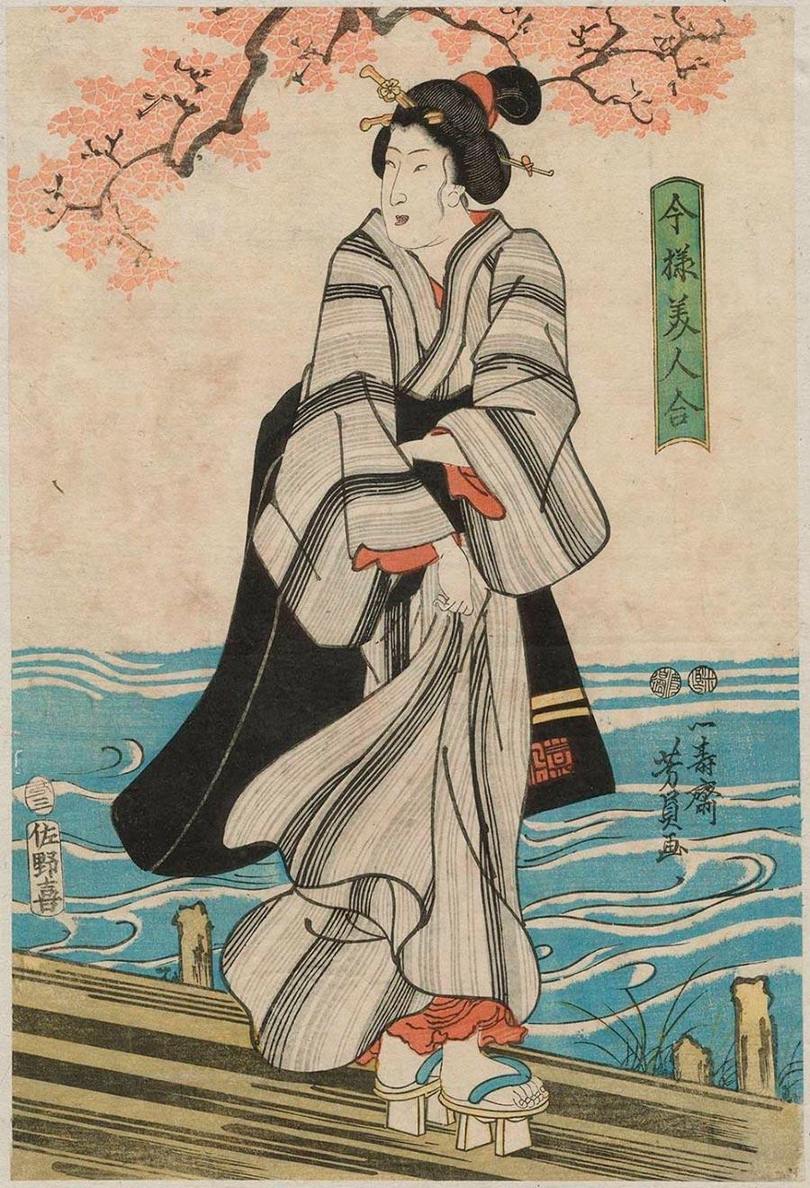 On-line архив японских гравюр, созданных с 1700-х годов до наших дней Утагава Ёсикадзу