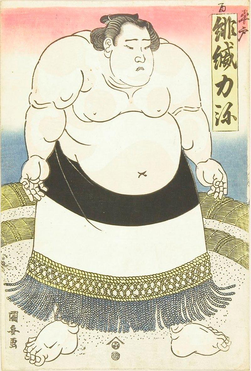 On-line архив японских гравюр, созданных с 1700-х годов до наших дней Утагава Куниясу