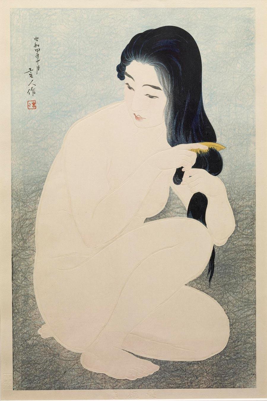 On-line архив японских гравюр, созданных с 1700-х годов до наших дней Тории Котондо