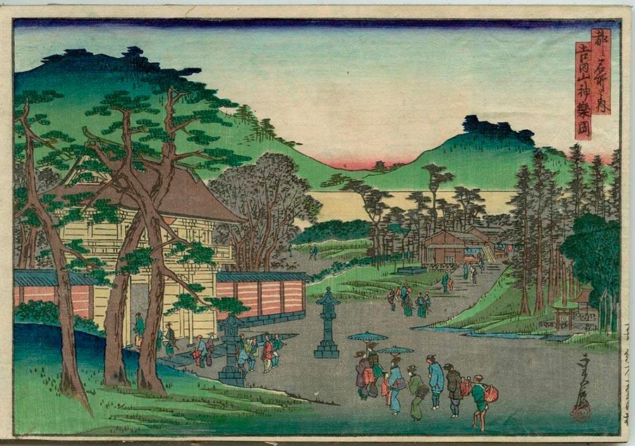 On-line архив японских гравюр, созданных с 1700-х годов до наших дней Хасэгава Саданобу