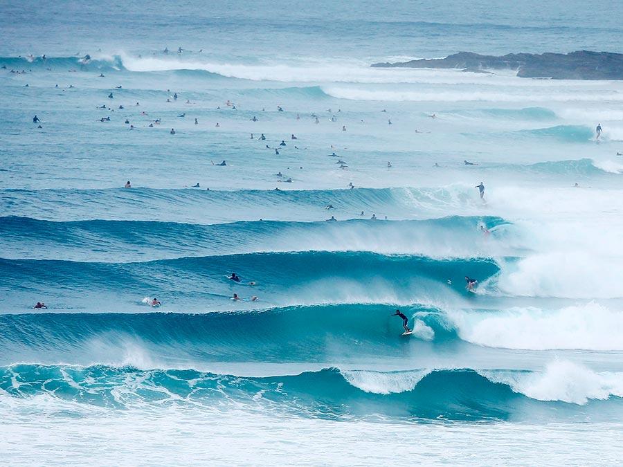 Восхитительная красота Австралии Побережье, Голд-Кост, Квинсленд