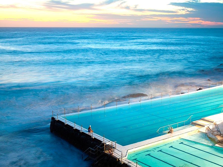 Восхитительная красота Австралии Пляж Бонди, Сидней