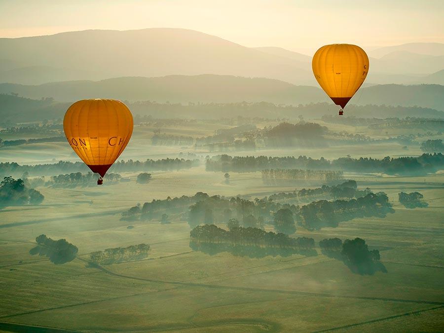 Восхитительная красота Австралии Долина Ярра, штат Виктория