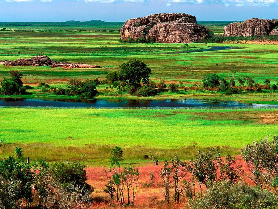 Восхитительная красота Австралии Национальный парк Какаду, Северная территория