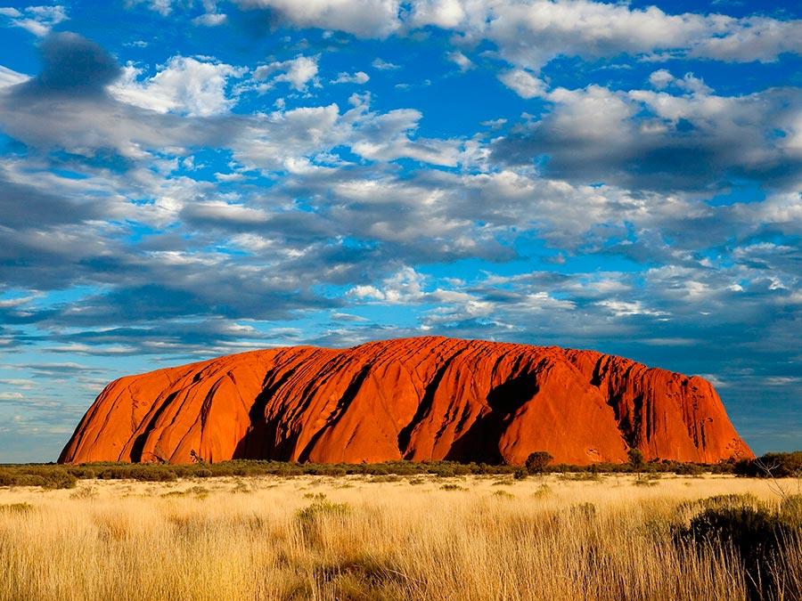 Восхитительная красота Австралии Скала Улуру (Эрс-Рок), Северная территория