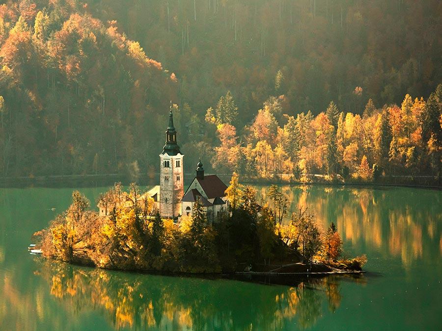 Самые прекрасные места Словении Озеро Блед