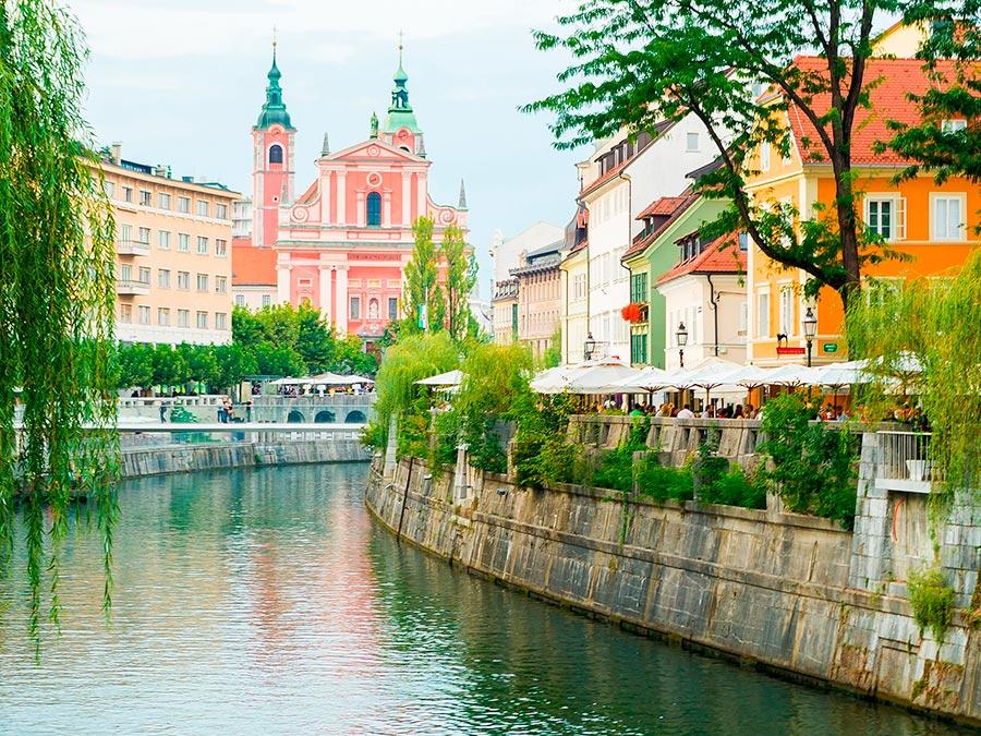 Самые прекрасные места Словении Любляна