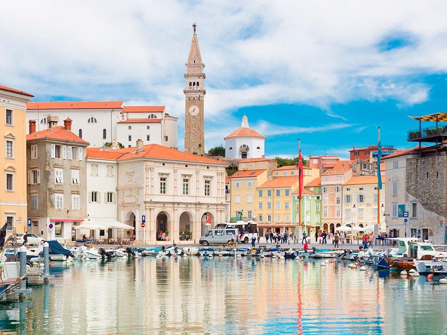 Самые прекрасные места Словении Пиран