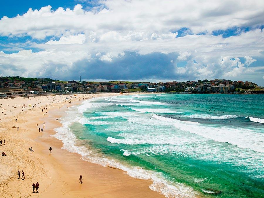 Серфинг: 10 лучших мест Пляж Бонди, Сидней, Австралия