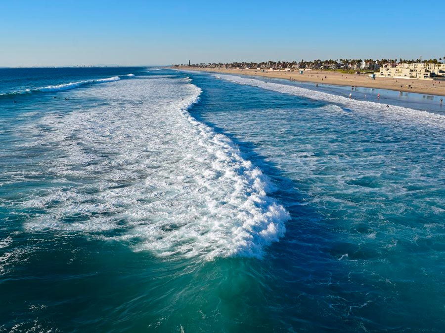 Серфинг: 10 лучших мест Хантингтон-Бич, Калифорния, США