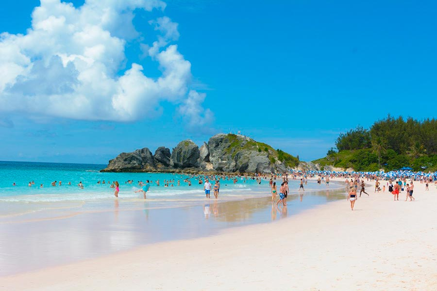 Самые великолепные пляжи в мире, по версии TripAdvisor Horseshoe Bay Beach — Саутхемптон, Бермудские острова
