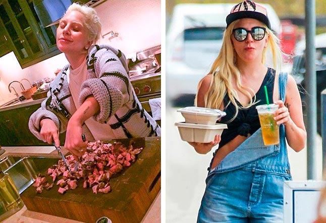 Знаменитости, которые живут скромной жизнью Леди Гага