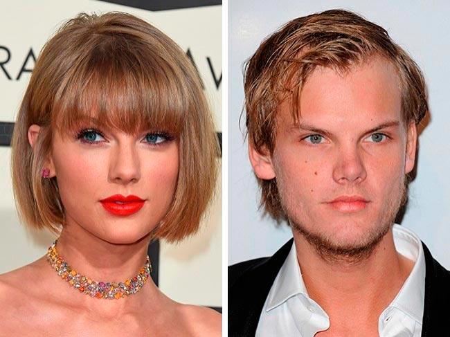 Знаменитости, которые подозрительно похожи Тейлор Свифт и Авичи