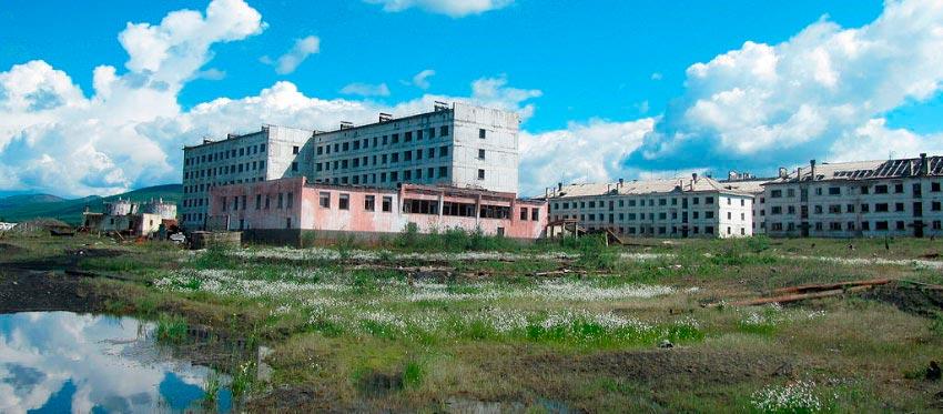 Советские города-призраки Кадыкчан