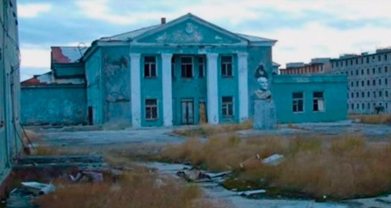 Советские города-призраки Иультин