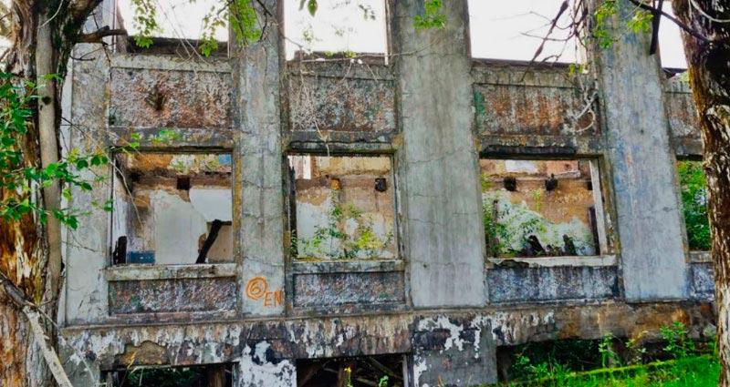 Советские города-призраки Верхняя Старая Губаха