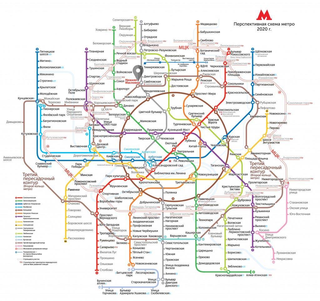 Третье кольцо метро: Нижняя Масловка, как строят на глубине