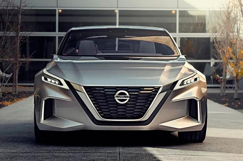 Самые крутые концепт-кары, представленные в 2017 году CES Nissan VMotion ProPilot