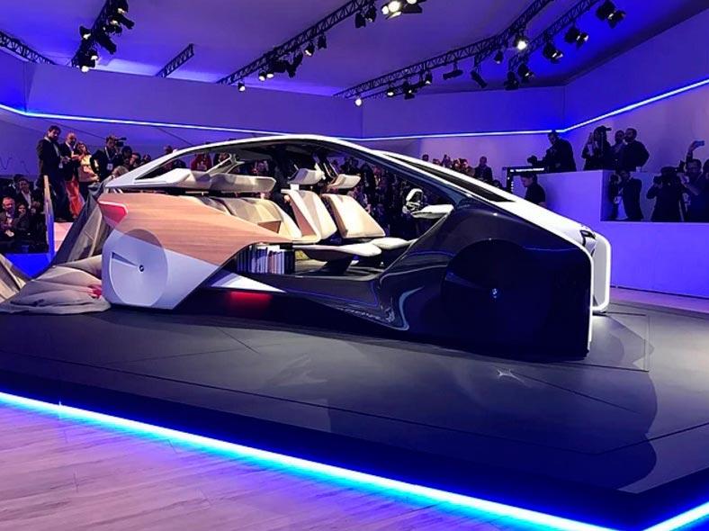 Самые крутые концепт-кары, представленные в 2017 году CES BMW