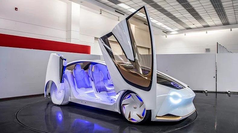 Самые крутые концепт-кары, представленные в 2017 году CES Toyota