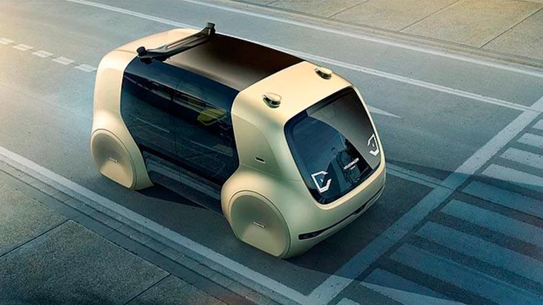 Самые крутые концепт-кары, представленные в 2017 году CES Volkswagen Sedric