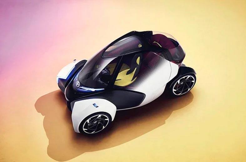 Самые крутые концепт-кары, представленные в 2017 году CES Toyota i-TRIL Active Lean