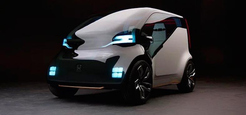 Самые крутые концепт-кары, представленные в 2017 году CES Honda NeuV