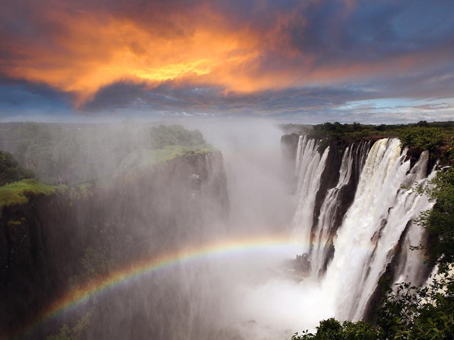 Страны для отпуска осенью по версии National Geographic Замбия