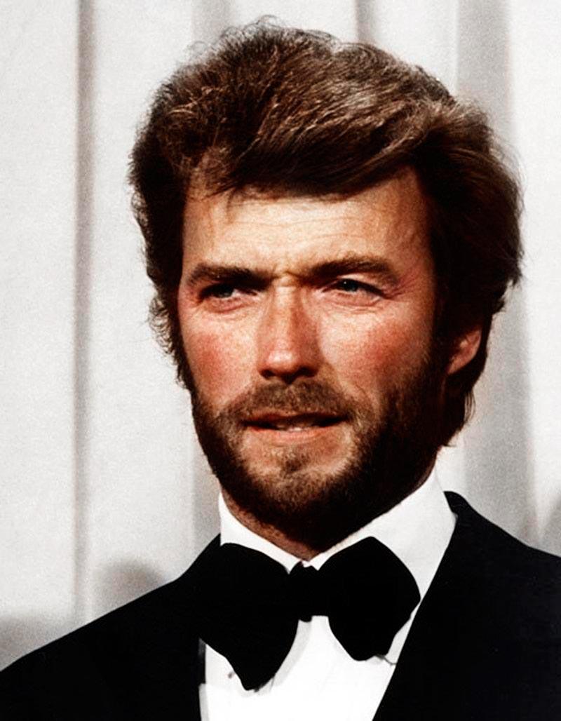 Культовые исторические фото - теперь в цвете Клинт Иствуд