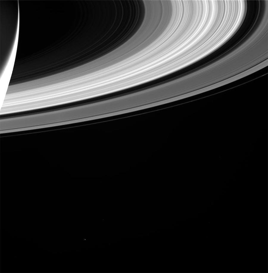 Кассини Cassini заключительная миссия снимки Сатурна