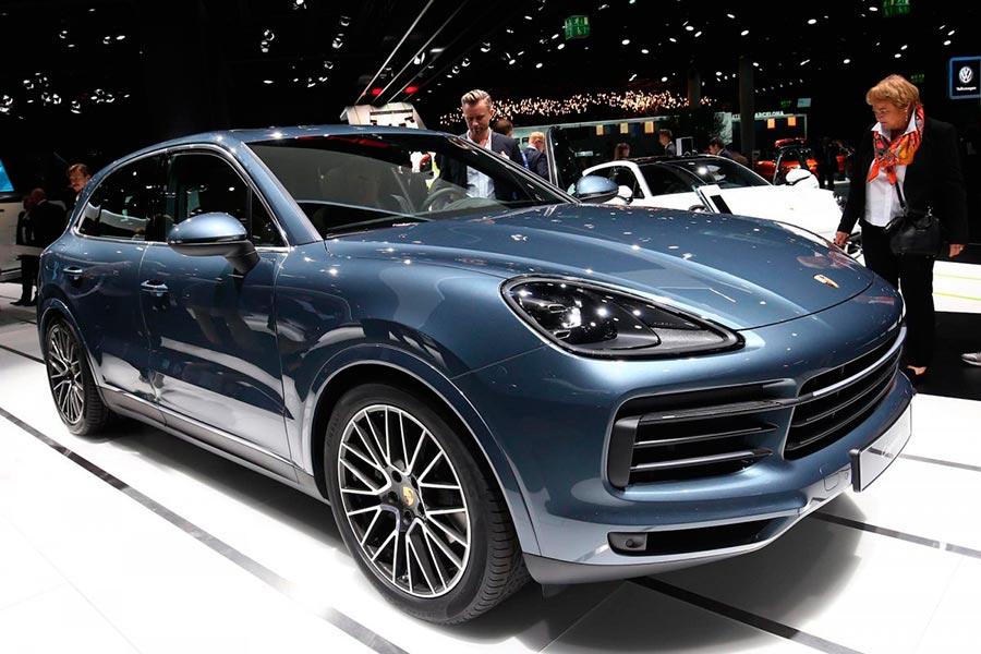 Автосалон во Франкфурте: самые горячие автомобили Порше Porsche Cayenne