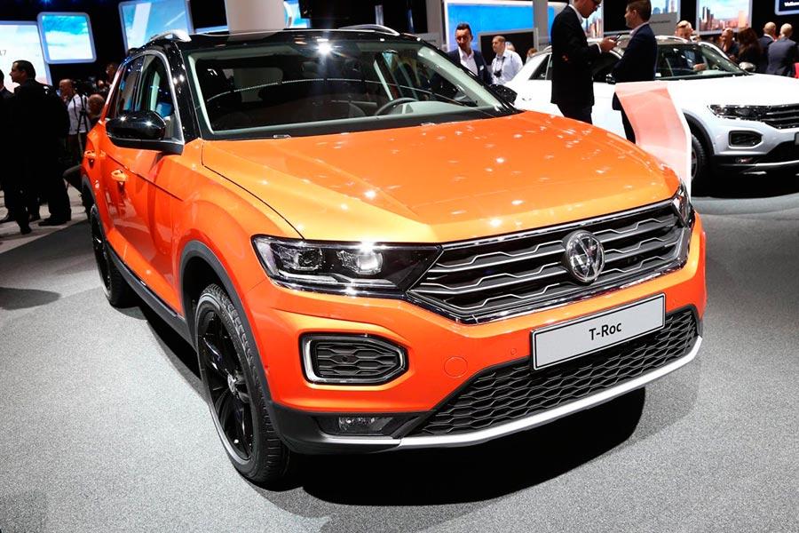 Автосалон во Франкфурте: самые горячие автомобили Volkswagen T-Roc