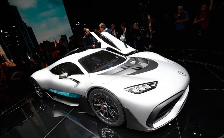 Автосалон во Франкфурте: самые горячие автомобили Mercedes-Benz AMER