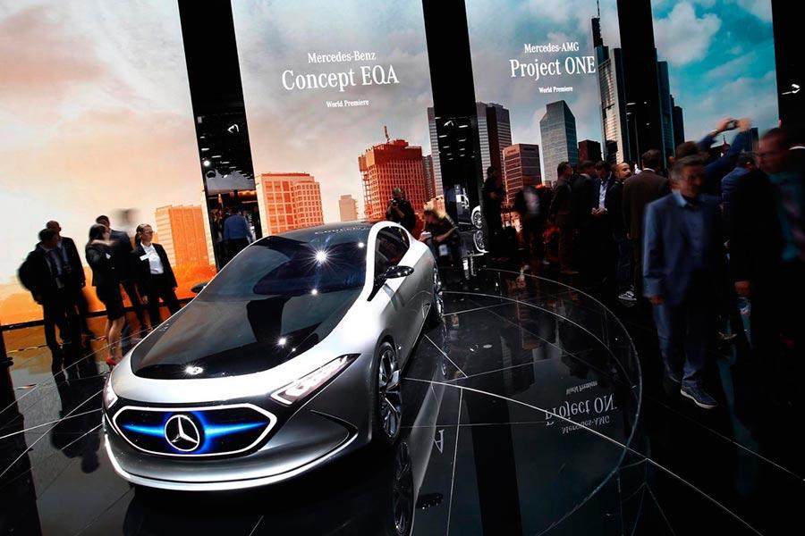 Автосалон во Франкфурте: самые горячие автомобили Mercedes-Benz EQA