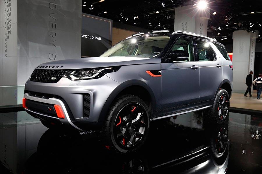 Автосалон во Франкфурте: самые горячие автомобили Jaguar Land Rover Discovery SVX