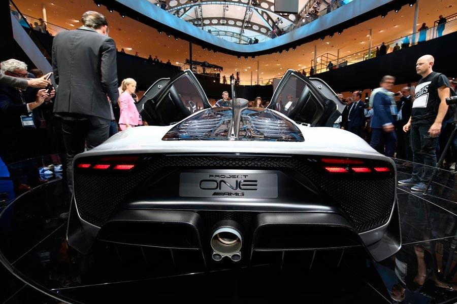 Автосалон во Франкфурте: самые горячие автомобили Project one