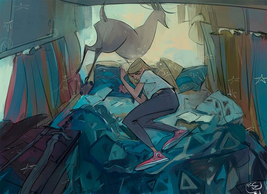 Лиана Анатольевич: очень крутое цифровое искусство