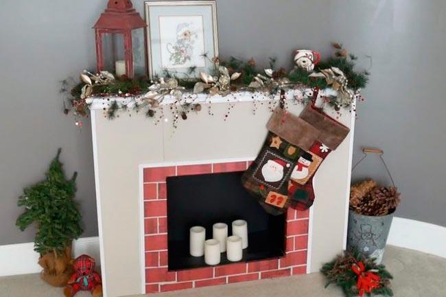 Лайфхаки из картонной коробки, которые сделают дом комфортнее Искусственный камин