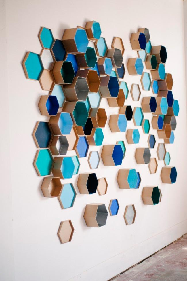 Лайфхаки из картонной коробки, которые сделают дом комфортнее Панно