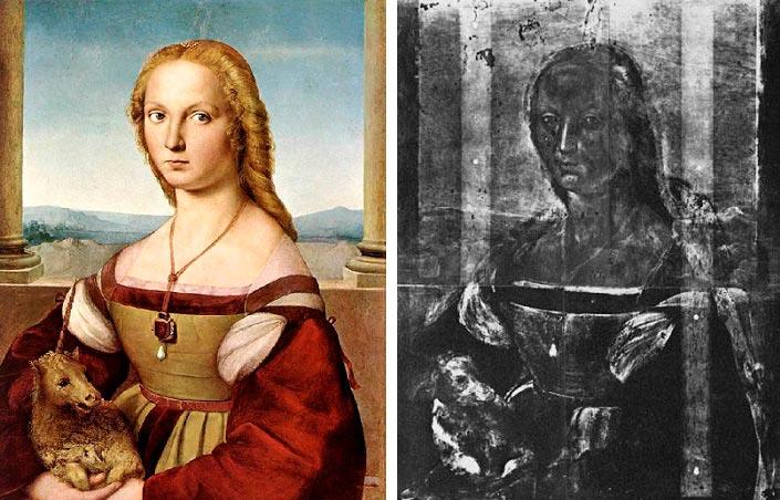 Шедевры живописи, на которых изображено намного больше Дама с единорогом Рафаэль