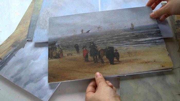 Шедевры живописи, на которых изображено намного больше Вид песков Схевенингена Хендрик ван Антониссен