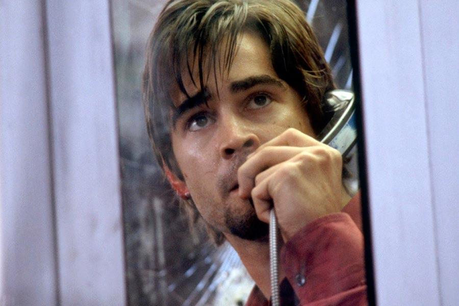 Фильмы, созданные на гениальных диалогах Телефонная будка Phone Booth