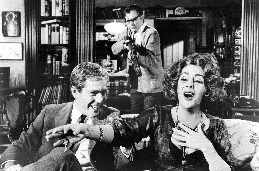 Фильмы, созданные на гениальных диалогах Кто боится Вирджинии Вулф Who's Afraid of Virginia Woolf