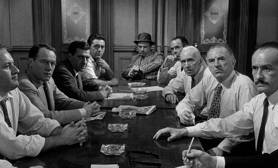 Фильмы, созданные на гениальных диалогах 12 разгневанных мужчин 12 Angry Men