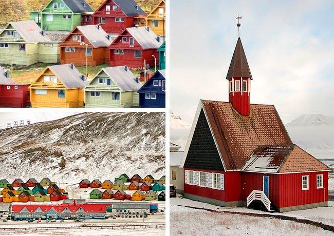 Самые невероятные города в мире Город Лонгйир, Свальбард