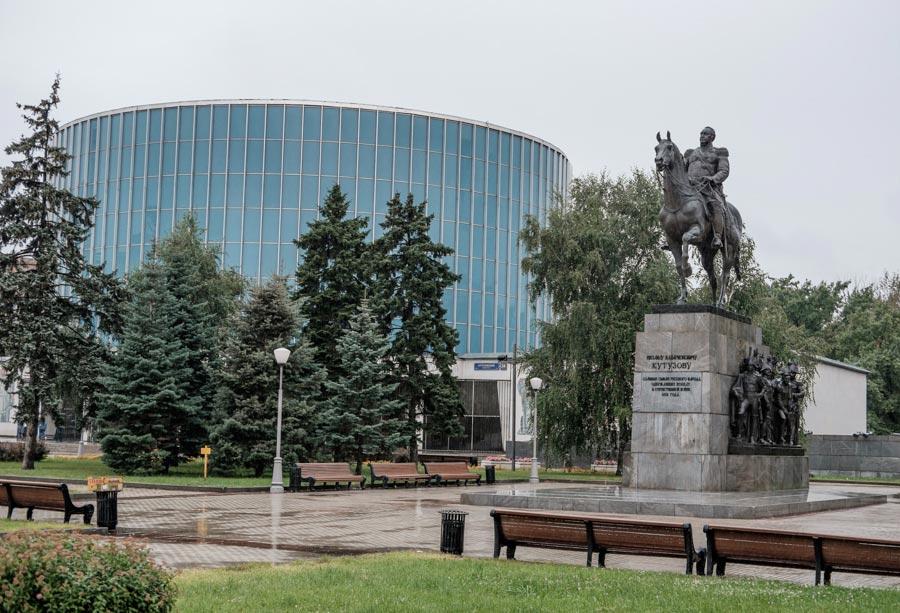 Панорама Бородинская битва
