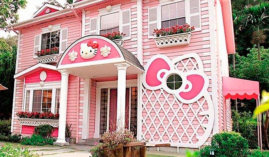 Самые оригинальные дома в мире Дом Hello Kitty, Тайвань