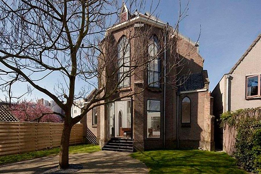 Самые оригинальные дома в мире Дом-церковь в Нидерландах