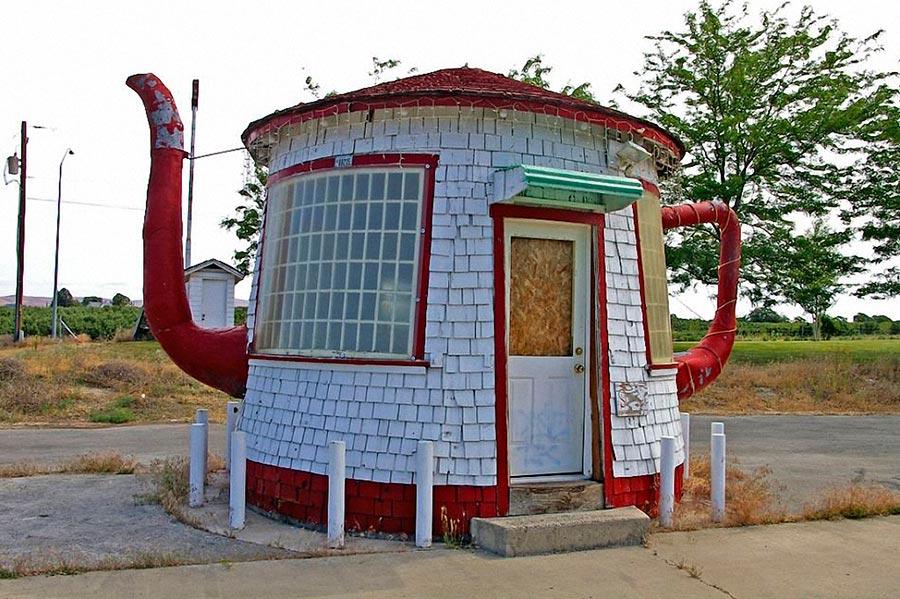 Самые оригинальные дома в мире Дом-заварочный чайник в США